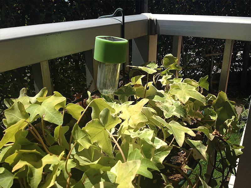 百均の園芸用ソーラーライト