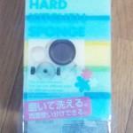 100円ショップキッチンのキッチンスポンジハードタイプ研磨剤入
