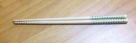 百均の竹のお箸