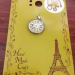 100円ショップ手芸品・クラフト用品のチャーム時計