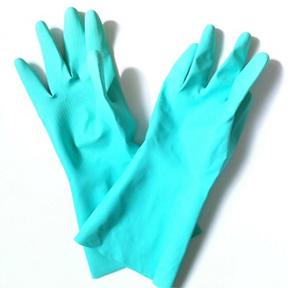 百均の裏起毛ゴム手袋