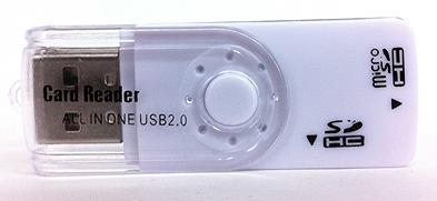 100円ショップのカードリーダーライター
