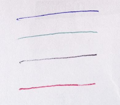 100円ショップの多機能4色ボールペン